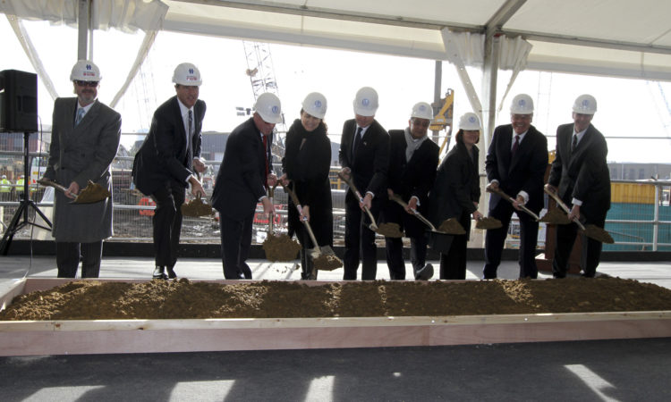 U.S. Mission Breaks Ground for New Embassy in London