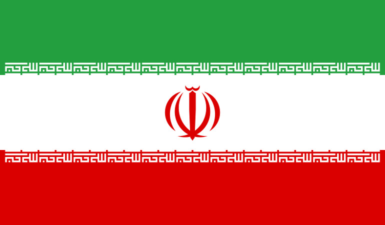 Flag of Republic of Iran