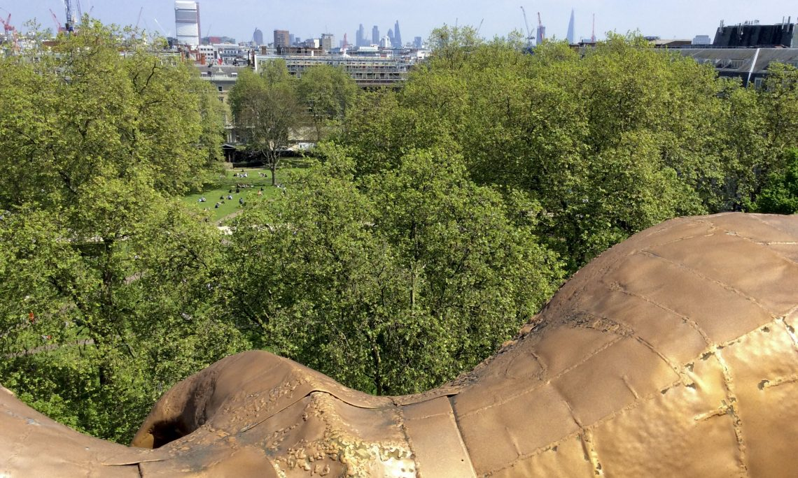 An eagle's eye view of Grosvenor Square