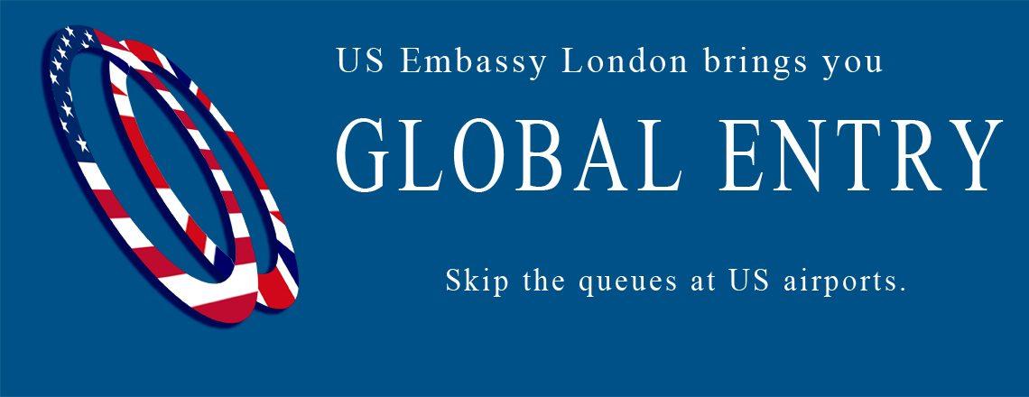 The Global Entry program streamlines US border controls for for UK citizens