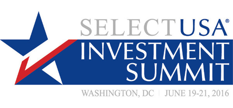 Logo for the 2016 SelectUSA summit