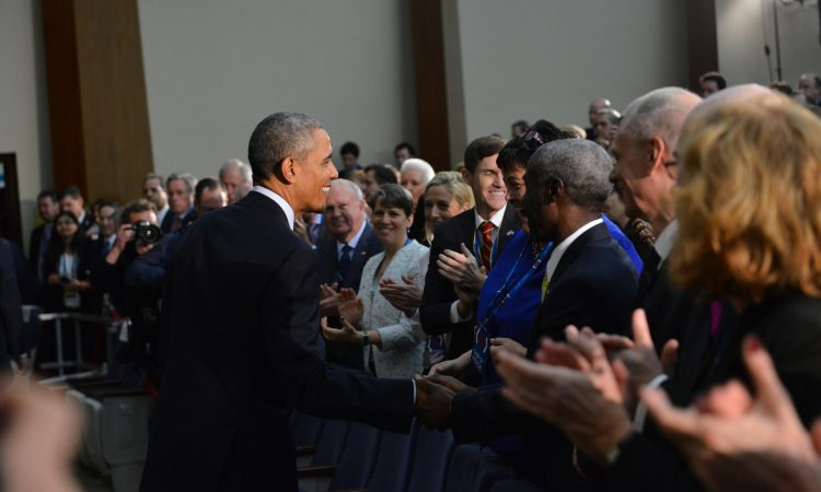 President Obama Greets U.S. Ambassadors at the 2016 Chief of Missions Conference