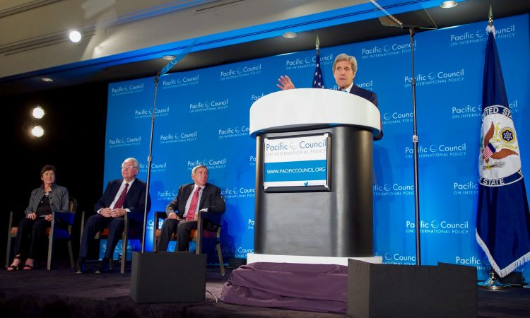 Secretary Kerry Speaks About Pacific Trade Policy Before the Pacific Council on International Policy in Los Angeles