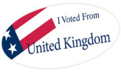 I have Voted from UK