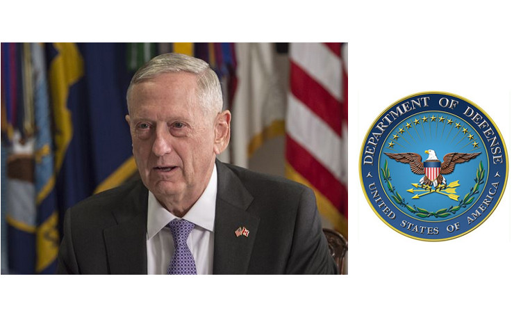 U.S. Secretary of Defense Mattis To Travel to London