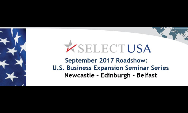 SelectUSA Roadshow September 2017