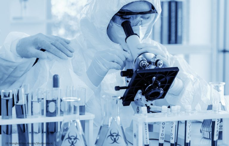 Scientists researching COVID-19