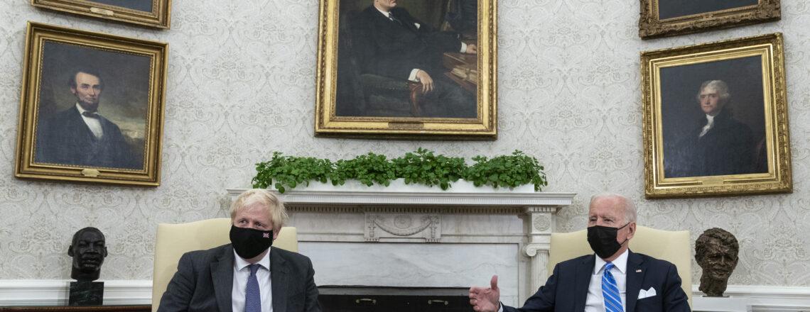 President Joe Biden Meets Prime Minister Boris Johnson