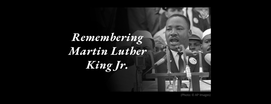 Today is Martin Luther King Day