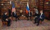 President Biden and President Putin meet for a bilateral meeting in Geneva, June 16, 2021