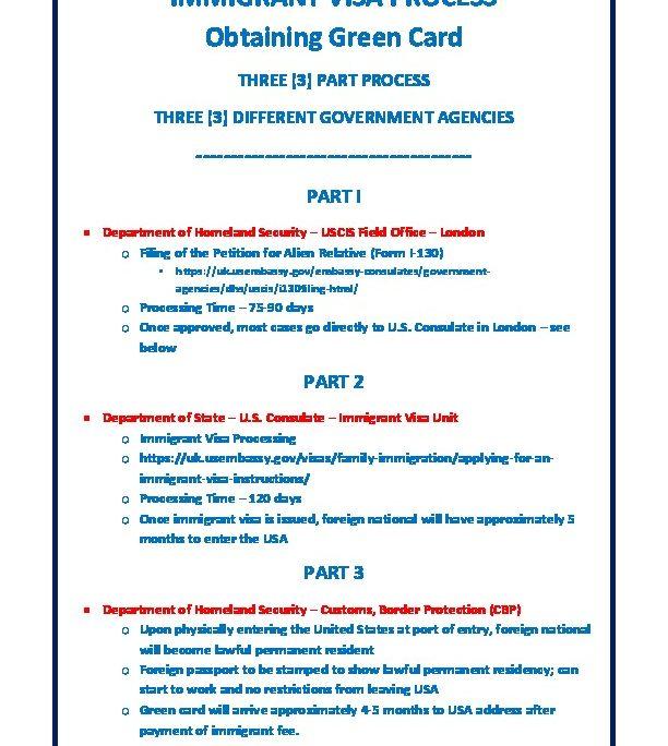 Three Part Immigrant Visa process (02 Jan 2018) | U S  Embassy
