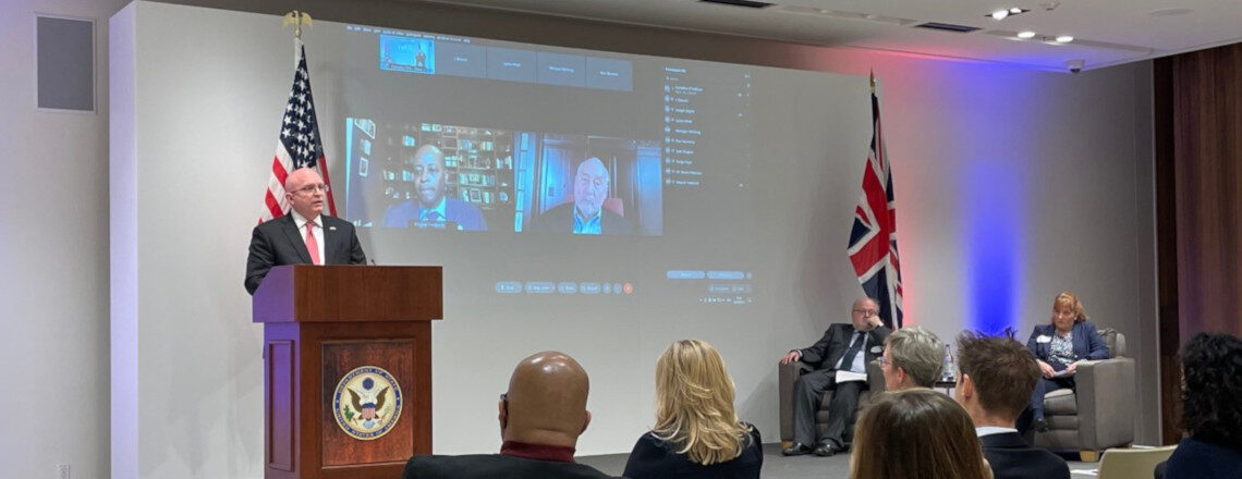 Chargé d'Affaires a.i Reeker's Remarks at the 2021 Fulbright Reception
