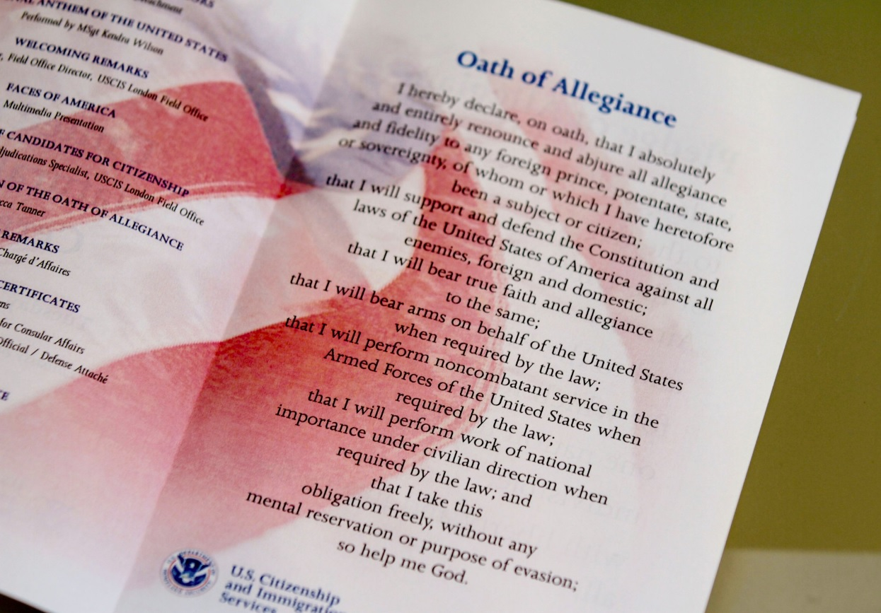 Image result for Oath of Allegiance