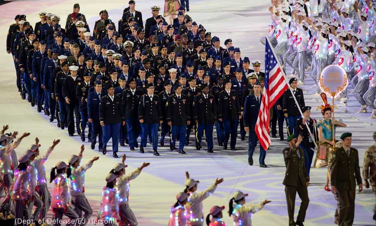 Peace through sports at the 2019 Military World Games | U.S. Embassy &  Consulates in the United Kingdom