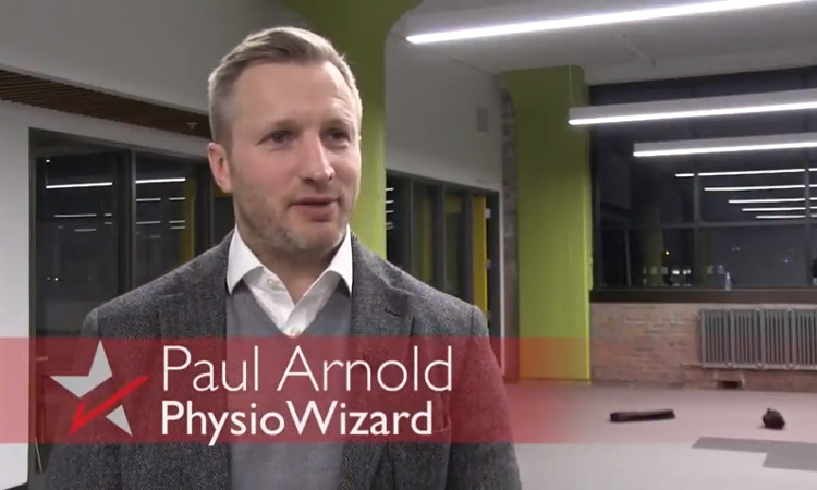 Paul Arnold, Business Development Director of PhysioWizard