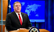 U.S. Secretary of State Pompeo in the Press Briefing Room