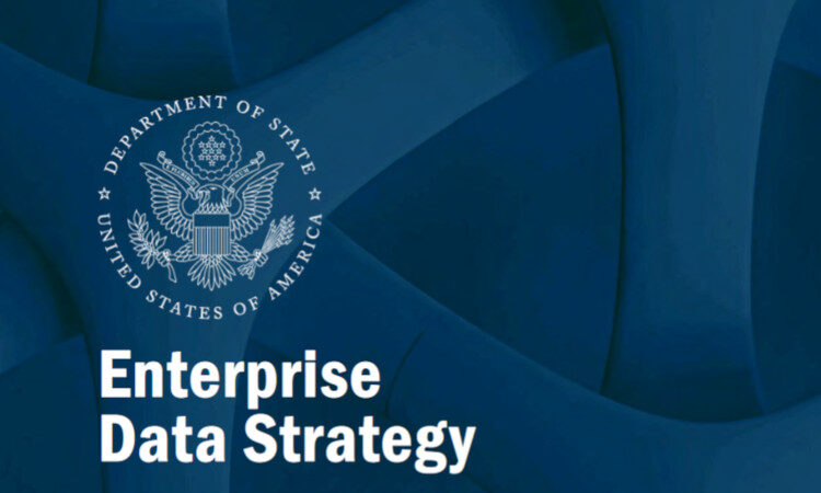 Front page image of the enterprise data strategy PDF