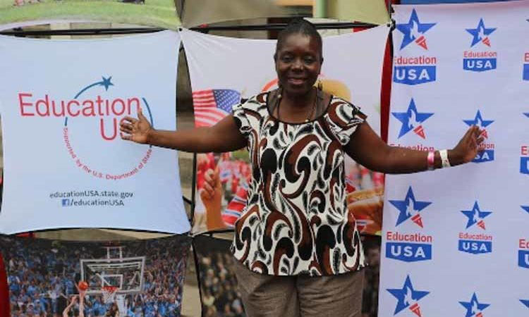 EducationUSA Advisor Yvette Shungu (State Dept. Images)