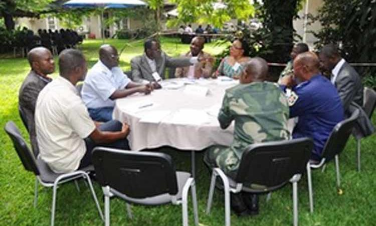 Participants to the seminar during a group discussion (State Dept Image)