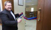 Le centre américain ouvre ses portes au public