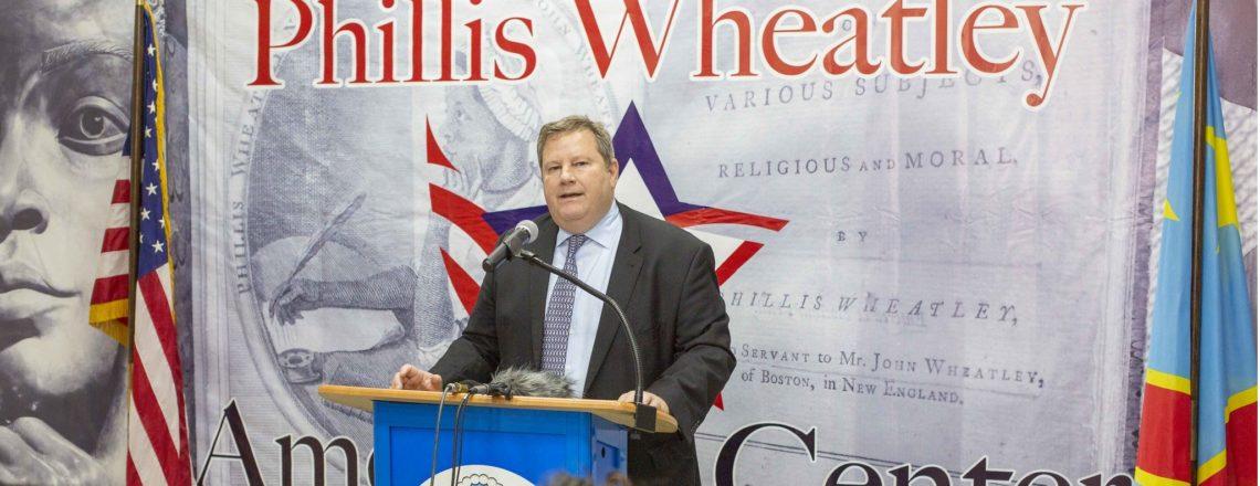 Le Centre Américain Phillis Wheatley à Kinshasa est maintenant ouvert!