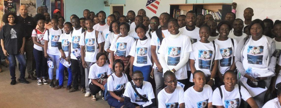 NASA astronaut Robert Curbeam visits Kinshasa, Bandundu, and Lubumbashi
