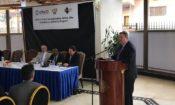 L'ambassadeur Mike Hammer et Paul Sabatine, directeur de l'USAID/RDC