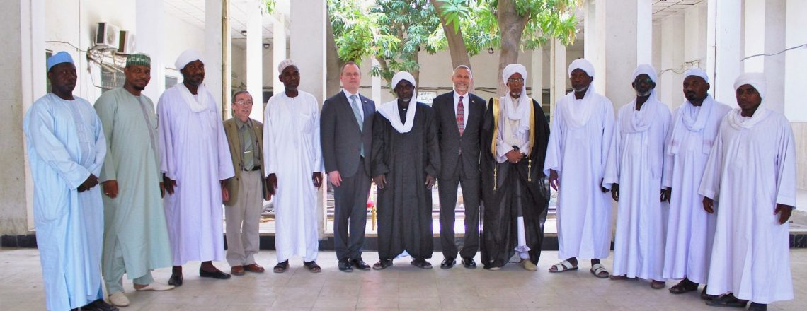 Chargé Pays Ramadan Visit to High Council for Islamic Affairs