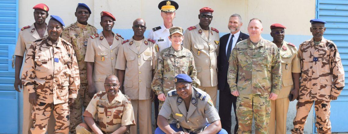 Chad-U.S. Teams Provide Medical Care, Improve Readiness