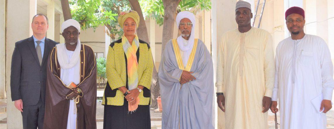 High Council for Islamic Affairs Welcomes Chargé d'Affaires Jessica Davis Ba
