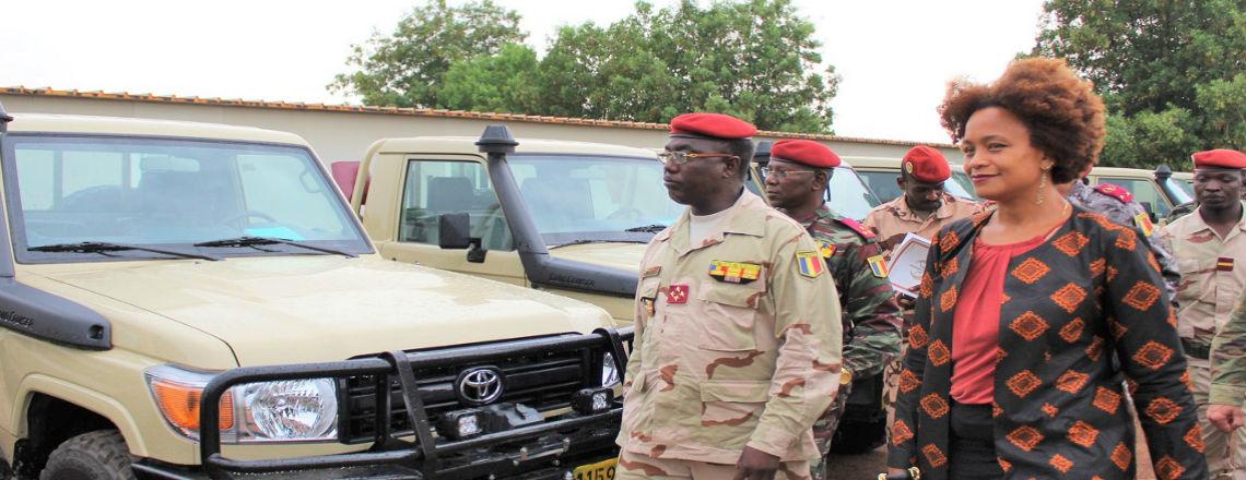Un don d'équipement des États-Unis renforce les forces tchadiennes du G5 Sahel