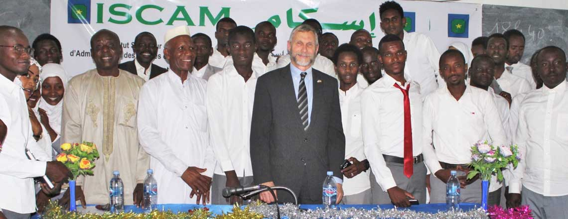 Chargé and ISCAM Students Share Views on Tolerance, Freedom of Conscience