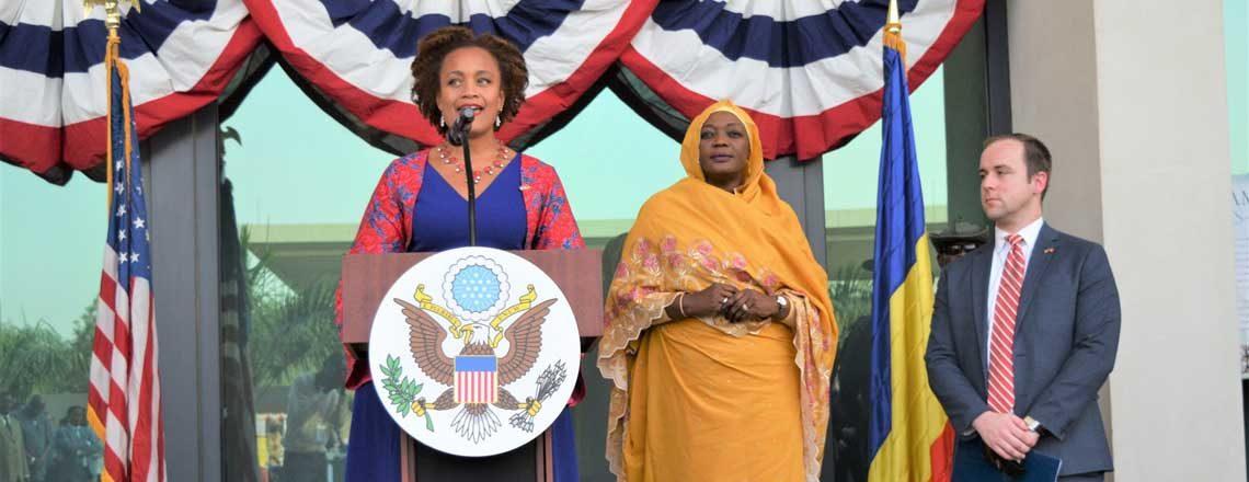 Discours de la Chargée d'affaires lors de la Célébration de la Fête Nationale Américaine