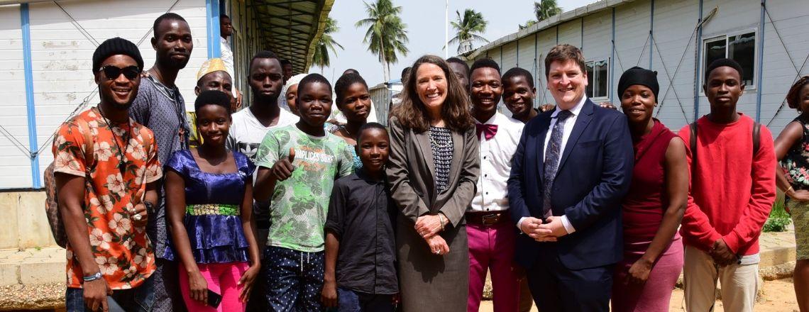Visite de l'ambassadeur Mahoney à l'Université d'Abomey Calavi