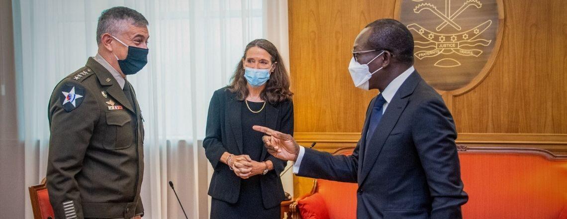 AFRICOM Commander visits Togo and Benin