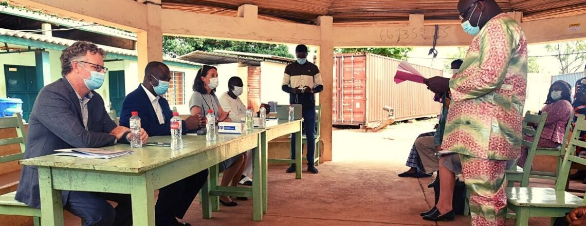 U.S. Ambassador Surveys U.S. Support for Culture, Education and Health in Borgou