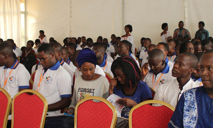 Benin English Clubs Summit participants