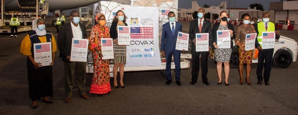 The United States Donates 302,400 Doses of Johnson & Johnson to Benin