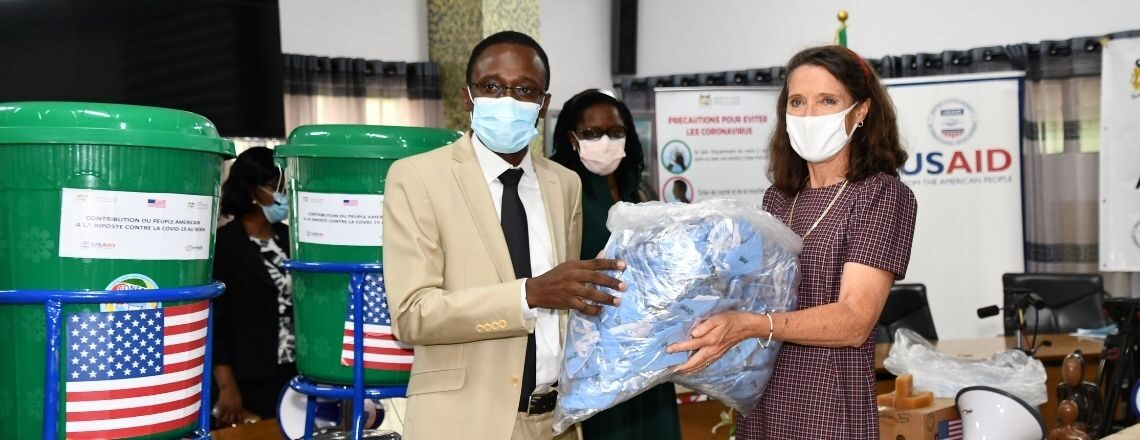 The United States Helps Protect Vulnerable People from COVID-19 in Benin