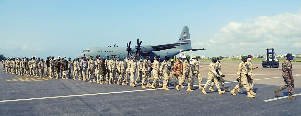 La United States Air Force Rapatrie des Troupes Béninoises Déployées au Tchad