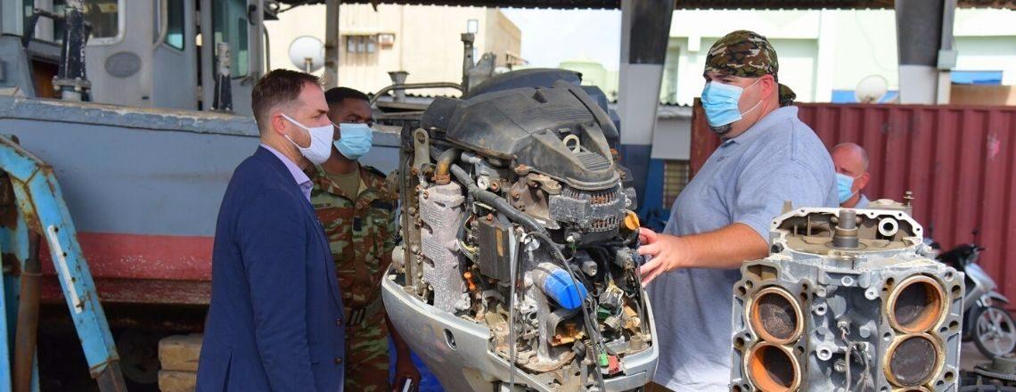 U.S. Reinforces Beninese Navy's Capacity to Secure Waterways and Respond to Emergencies