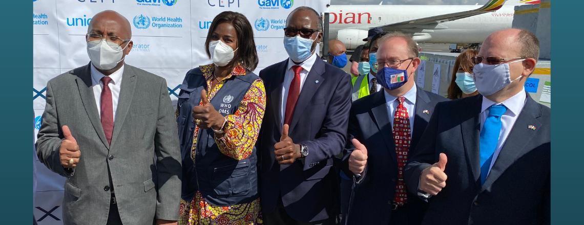 Les États-Unis félicitent Madagascar pour l'arrivée des premiers vaccins COVID-19