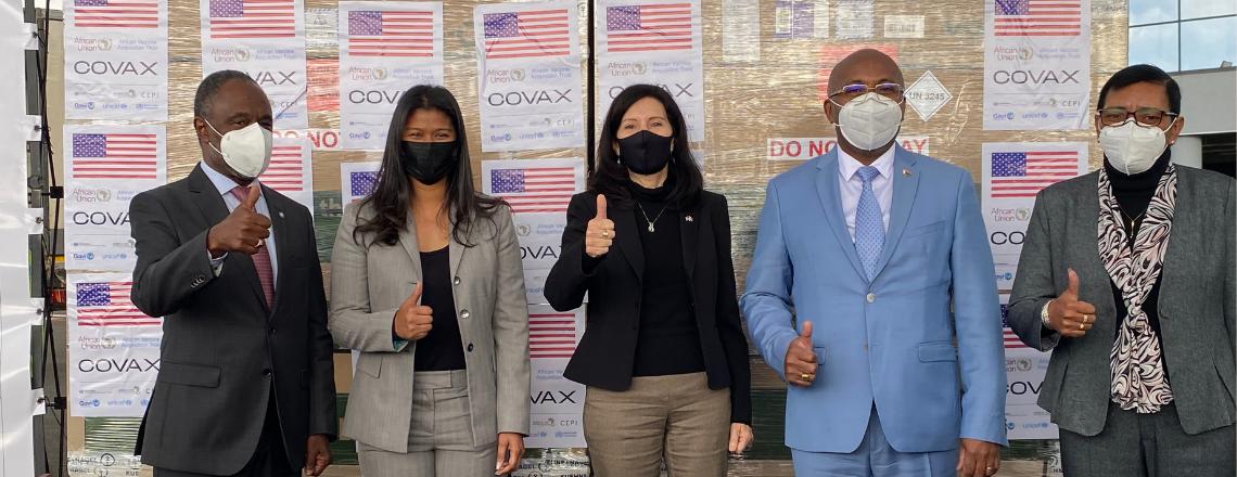 United States Donates 302,750 COVID-19 Vaccine Doses to Madagascar