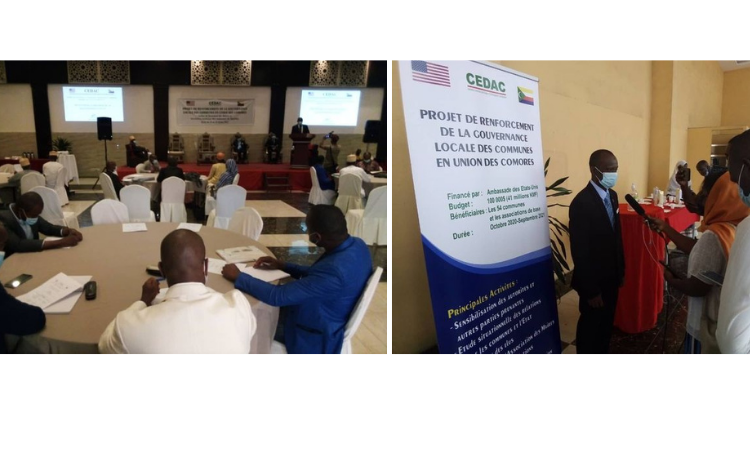 Launching Project Desined to Boost the Capacity of Civil Society Members