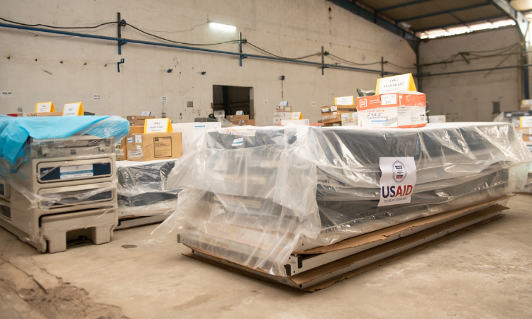 The U.S. Government Donates US$1.5 Million in Medical Equipment to Enhance Quality of Services in 13 Districts