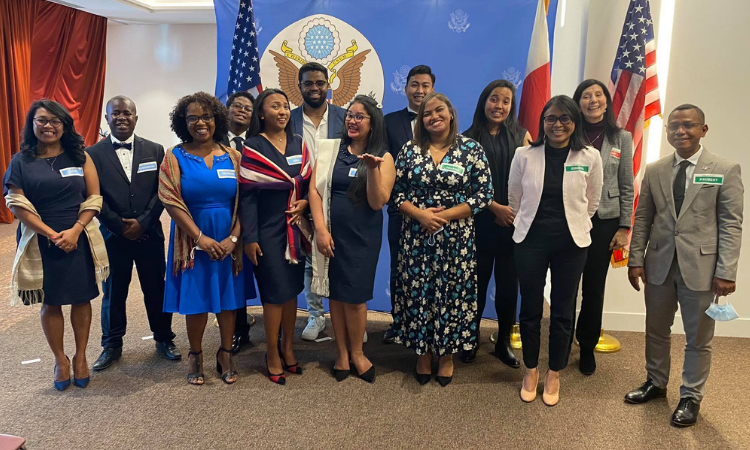 U.S. Embassy Celebrates 11 Young Malagasy Leaders for Completing Intensive U.S. Leadership Training