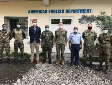 U.S. Defense Attaché David Appezzato Visited Moroni and Anjouan
