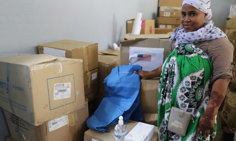 PPE Donation in Comoros