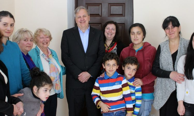 Ambassador Kelly Meets with Children and Volunteers at the Weekend School in Mestia. Photo: State Dept