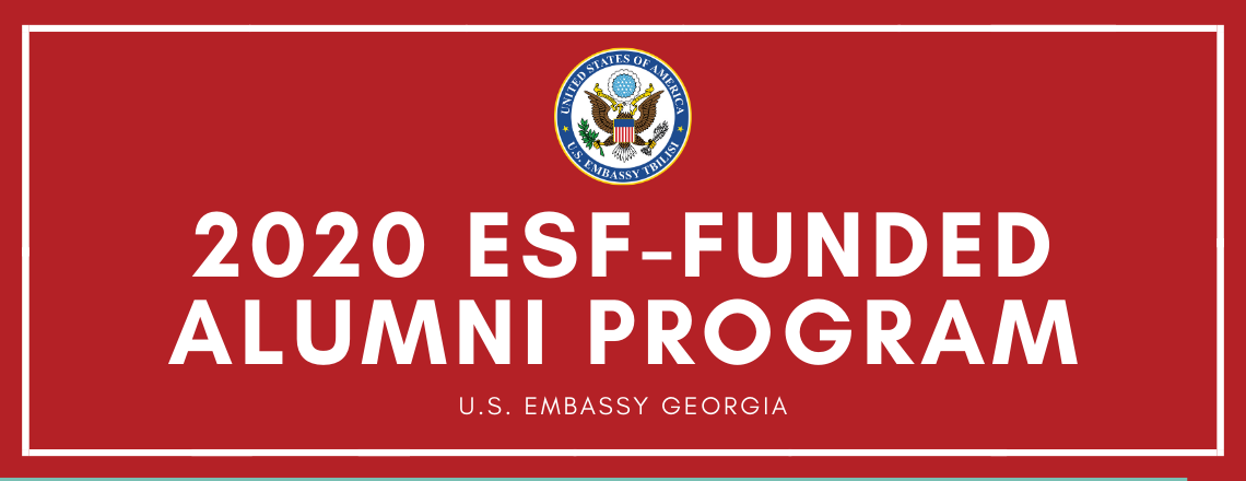 2020 ESF-funded Alumni Program
